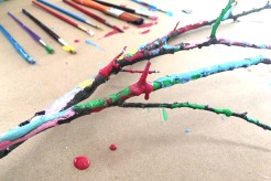 Tree Branch Painting
