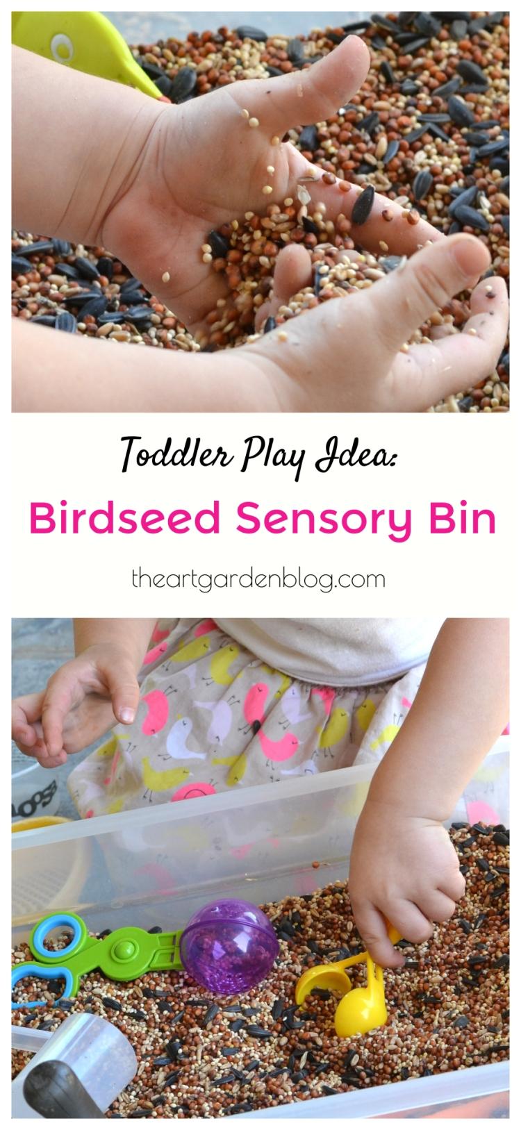 birdseedsensorybin